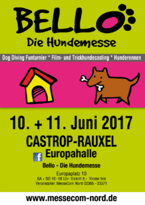 Bello Hundemesse 2017 Plakat