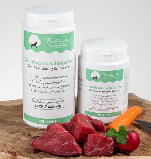 Frohlinder Nahrungsergänzung Grünlippmuschelpulver